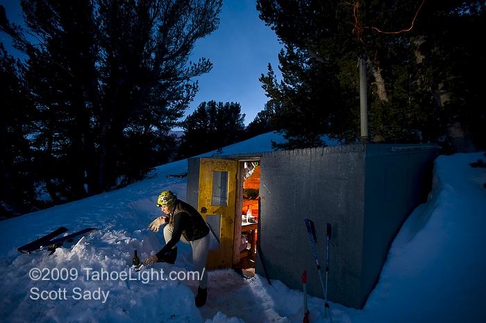 Lake Tahoe Ski Photography Backcountry Skiing Images