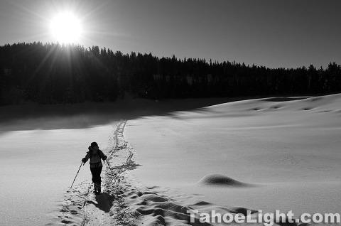 Ski Tours in the Sierra Nevada: Lake Tahoe