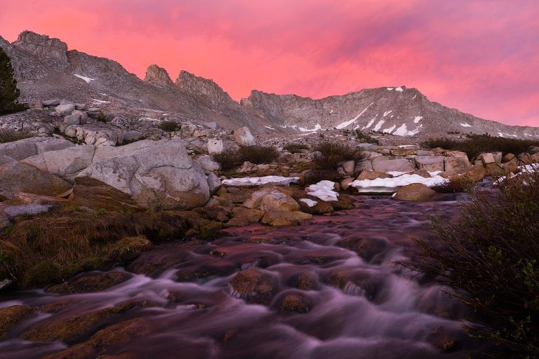 Pine Creek Pass backpacking trip 2016